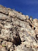Rock Climbing Photo: At the anchor....