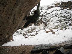 Rock Climbing Photo: Great sending temps.