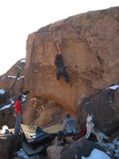 Rock Climbing Photo: Such a great problem. Fun,simple and clean