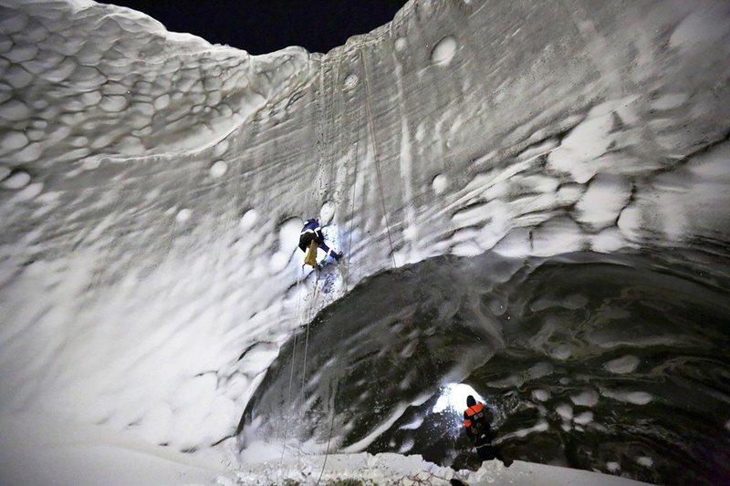 The Siberia mystery hole