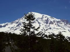 Rock Climbing Photo: Distance shot of Mt. Rainier