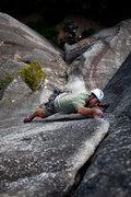 Rock Climbing Photo: Me getting my stem on. Photo by Matt Macatee.