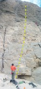 Rock Climbing Photo: Nora belays Tim on Hungover