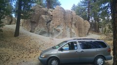 Rock Climbing Photo: Deadmans 1 is less than 2 minutes from the highway...