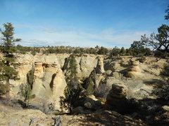 Rock Climbing Photo: Great views abound