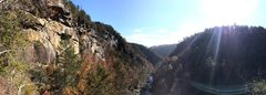 Rock Climbing Photo: Panoramic from the approach