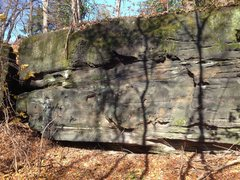 Rock Climbing Photo: Eastern portion of Walk in the Park.  Latitude: 41...