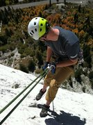 Rock Climbing Photo: Wrapping off Till Hell Freezes Over. Helmet Gate B...