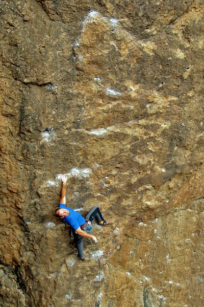 Rock Climbing Photo: Leading Espresso
