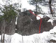 Rock Climbing Photo: ASP3