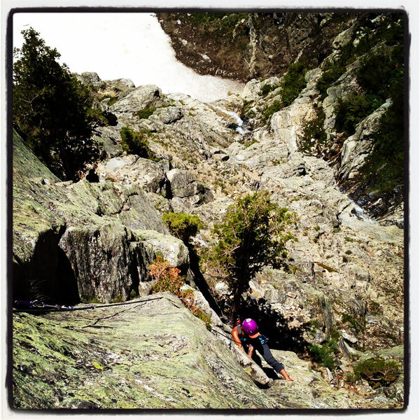 Rock Climbing Photo: Guides Wall