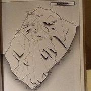 Rock Climbing Photo: Tick Rock topo, from S. Cal Sport Climbing, 3rd ed...