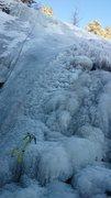 Silver Cascade Falls, 11/14/14.