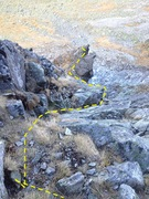 Rock Climbing Photo: Mid way up.