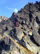 Rock Climbing Photo: Beyond pitch 4