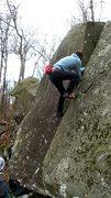 Rock Climbing Photo: Diabase jammin
