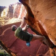 Rock Climbing Photo: Lip traverse