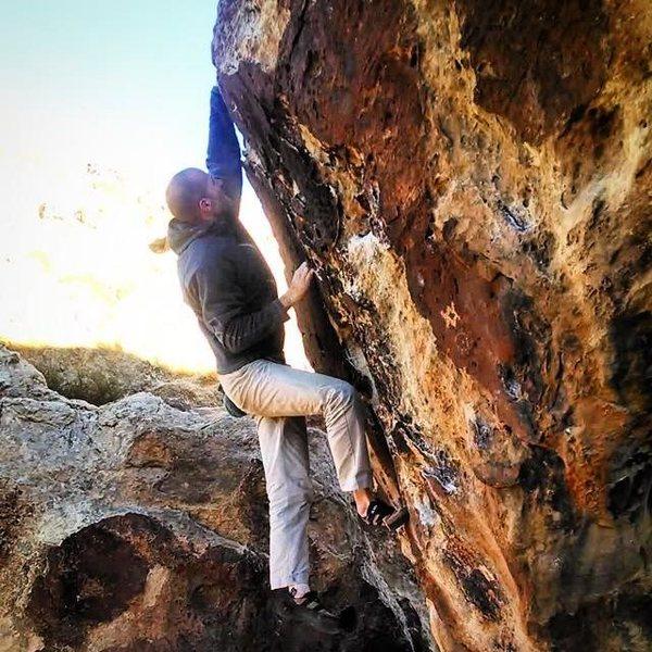Rock Climbing Photo: Victoria.