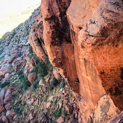 Rock Climbing Photo: The Fox, Calico basin, Red Rock
