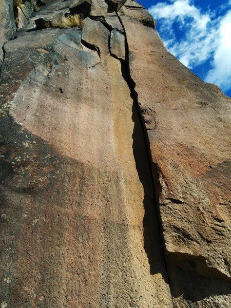 Rock Climbing Photo: Squoze