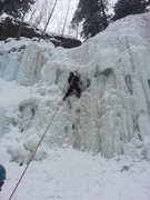 Rock Climbing Photo: Cold, fat, and a little hacked out. Still good tim...