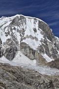 Rock Climbing Photo: The north face of Ranrapalca.