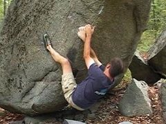 Rock Climbing Photo: Hardly Working.