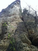 Rock Climbing Photo: West facing Indian Head Buttress