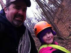Rock Climbing Photo: Daddy/Daughter Date!