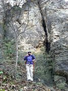 Rock Climbing Photo: Large Chimney of Decapitator