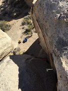 Rock Climbing Photo: What's The Story North Face Topo