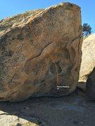 Rock Climbing Photo: Eyes North Face Topo