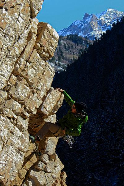 Rock Climbing Photo: City Slave