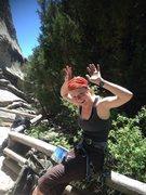 Rock Climbing Photo: Hanging around The City