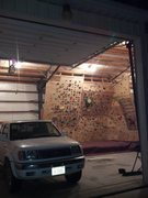 Rock Climbing Photo: Home wall pic
