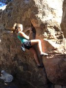 Rock Climbing Photo: Amanda Bradley in Pine Mountain
