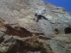 Rock Climbing Photo: The views are awesome the rock wet sandy and slipp...