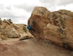 Rock Climbing Photo: Joe 97 (left)