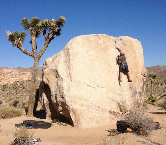 Chad Parker...I don't know the area or the Boulder. Little help?