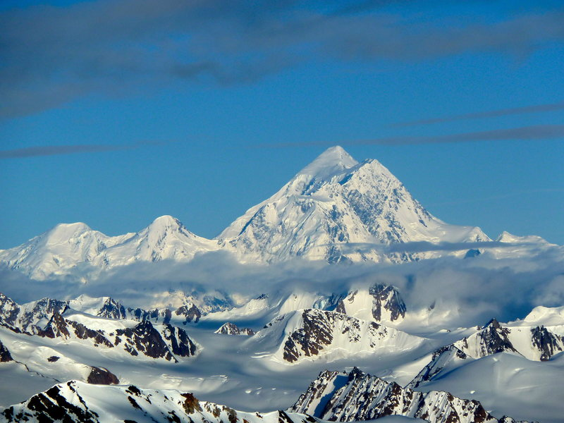 Northeast face Mount St. Elias