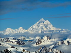 Rock Climbing Photo: Northeast face Mount St. Elias