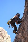 Rock Climbing Photo: Solution: A Step Across