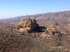 Rock Climbing Photo: View from the short hike in Texas Canyon, CA photo...