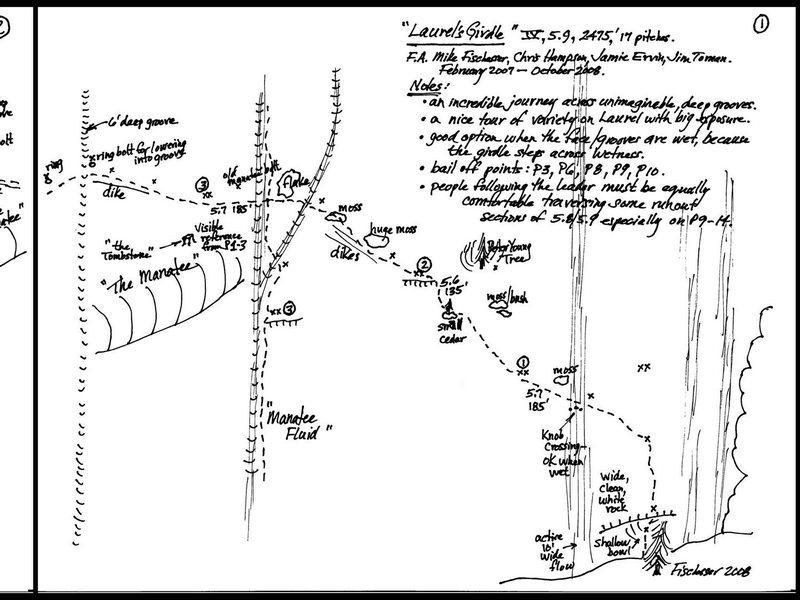 Laurel's Girdle - IV, 5.9, 2,475', 17 pitches