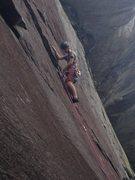 Rock Climbing Photo: Caleb on RONA
