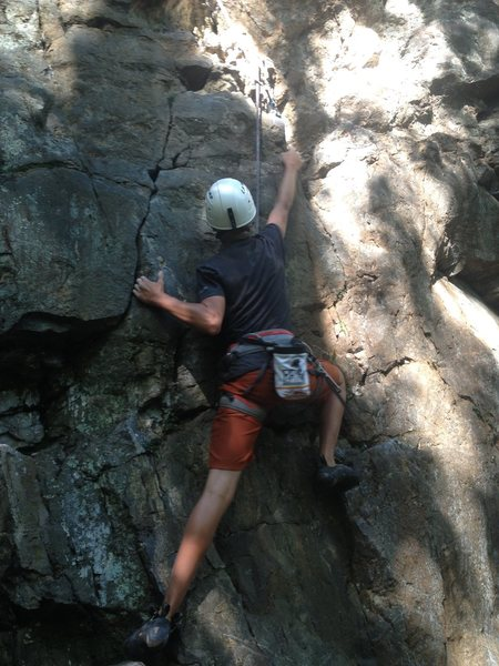 Rock Climbing Photo: Gateway Crack