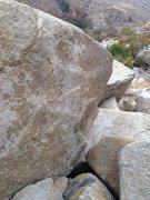 Rock Climbing Photo: power of fear V5