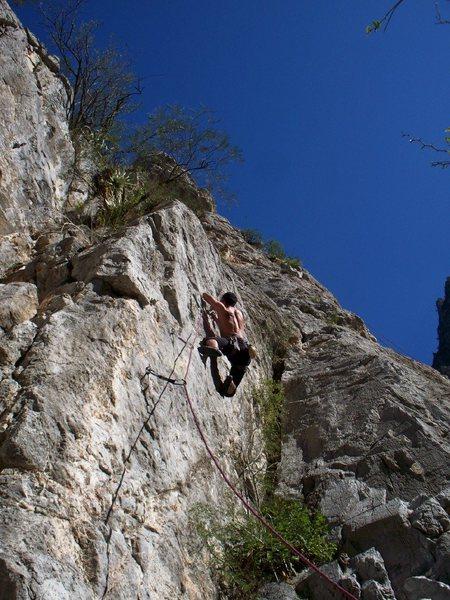 Rock Climbing Photo: Potrero Chico in January