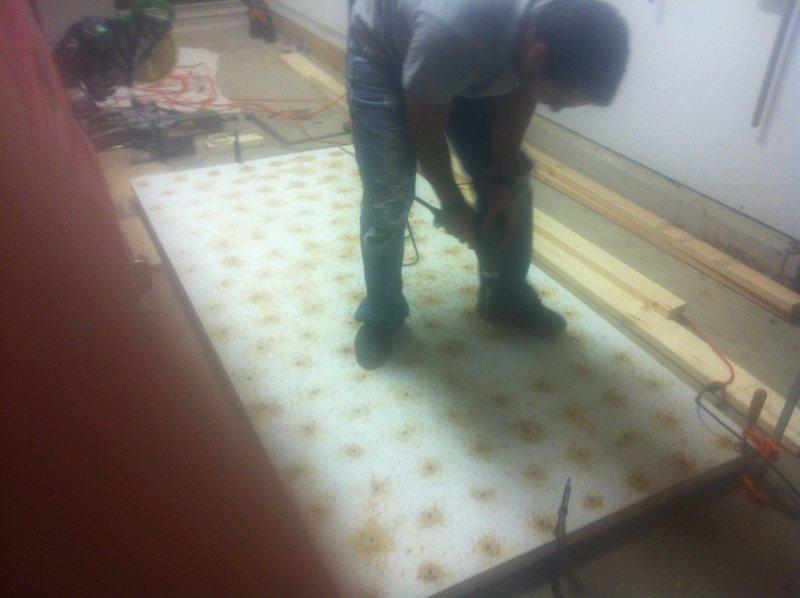 drilling 3 sheets at once