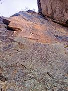 Rock Climbing Photo: Blue Light Special, 5.12a.